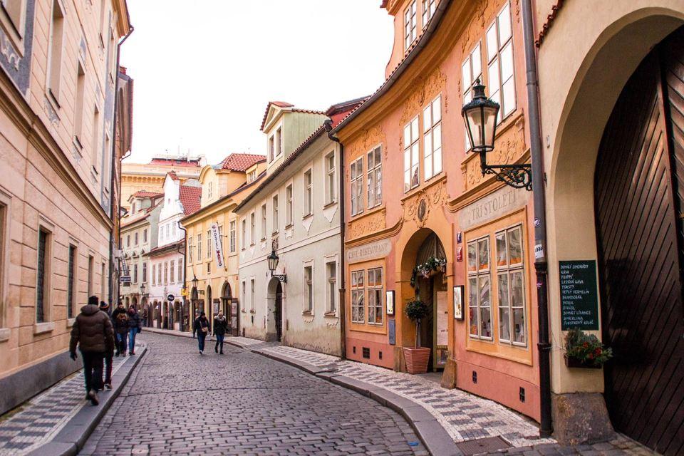 Straße in Prag, Kleinseite