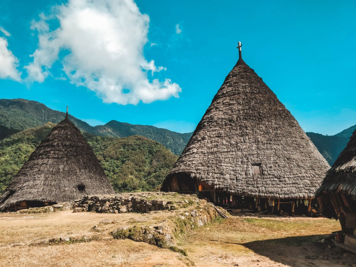 The biggest hut in Wae Rebo
