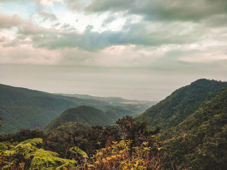 Der Blick auf den Weg nach Wae Rebo