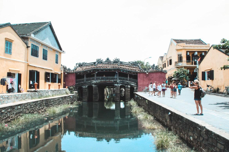 Japanische Brücke Hoi An