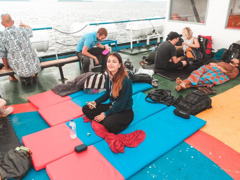Überfahrt auf die Togian Islands von Gorontalo per Fähre