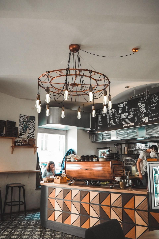 Café Telegraph Theke