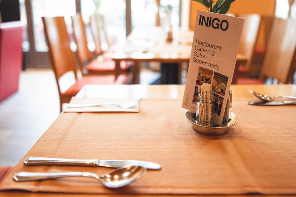 Restaurant Inigo Innenansicht