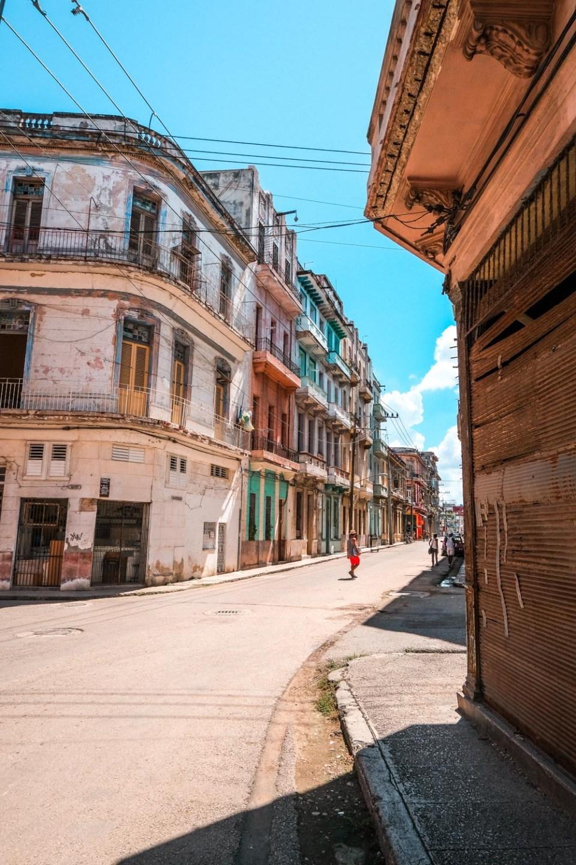 Straßenbild in Kuba