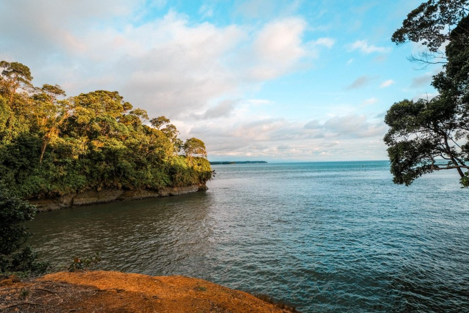 Pazifikküste von Kolumbien