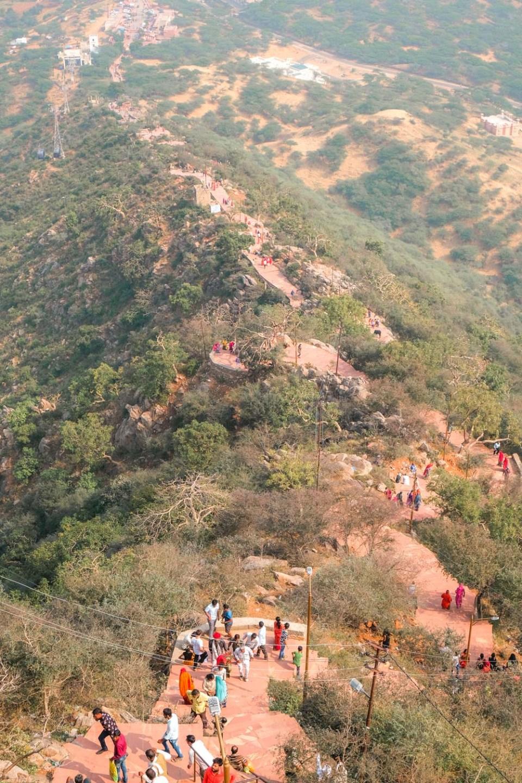 Pushkar Sehenswürdigkeiten von oben