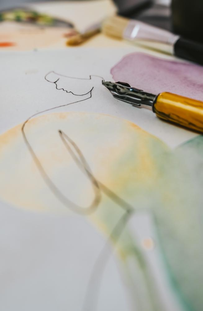 Aktivitäten während Quarantäne: Zeichnen