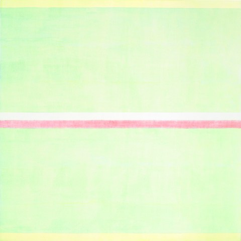 Agnes Martin, Gratitude, 2001, acrylic and graphite on canvas, 60 x 60 inches