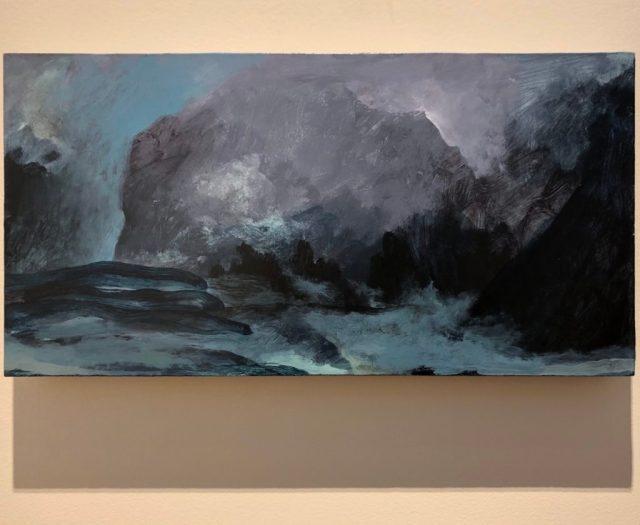 Bradley Butler, acrylic on panel