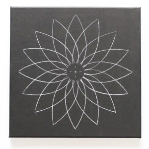 11″ Lotus Mandala Stencil