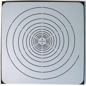 12″ Spiral Mandala Stencil