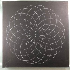 11″ Torus Mandala Stencil