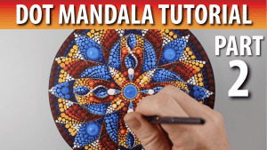 Dot Mandala Tutorial