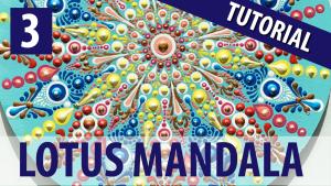Lotus Mandala Tutorial Series