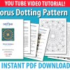 Torus Dot Mandala Pattern