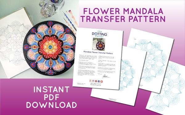 Mandala Transfer Pattern