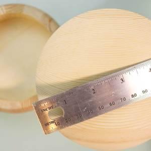 5″ Round Wood Box