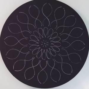 12″ Daisy Mandala Stencil