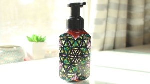 Painted Soap Dispenser