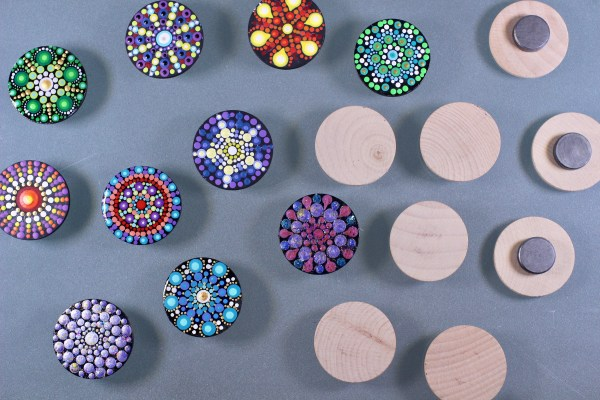 Unpainted Magnets