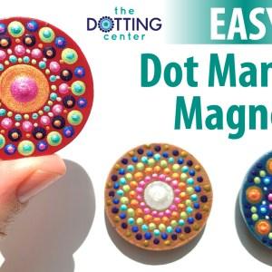 Unpainted Wood Circle Magnets
