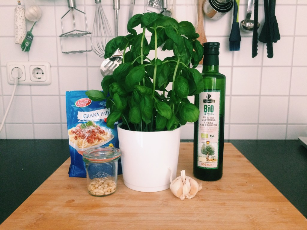 pesto pasta ingredients