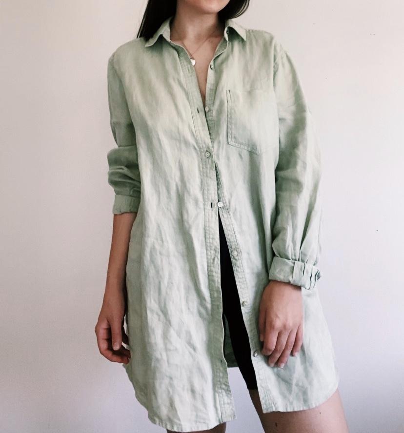 Oversized linen shirt - Other Stories