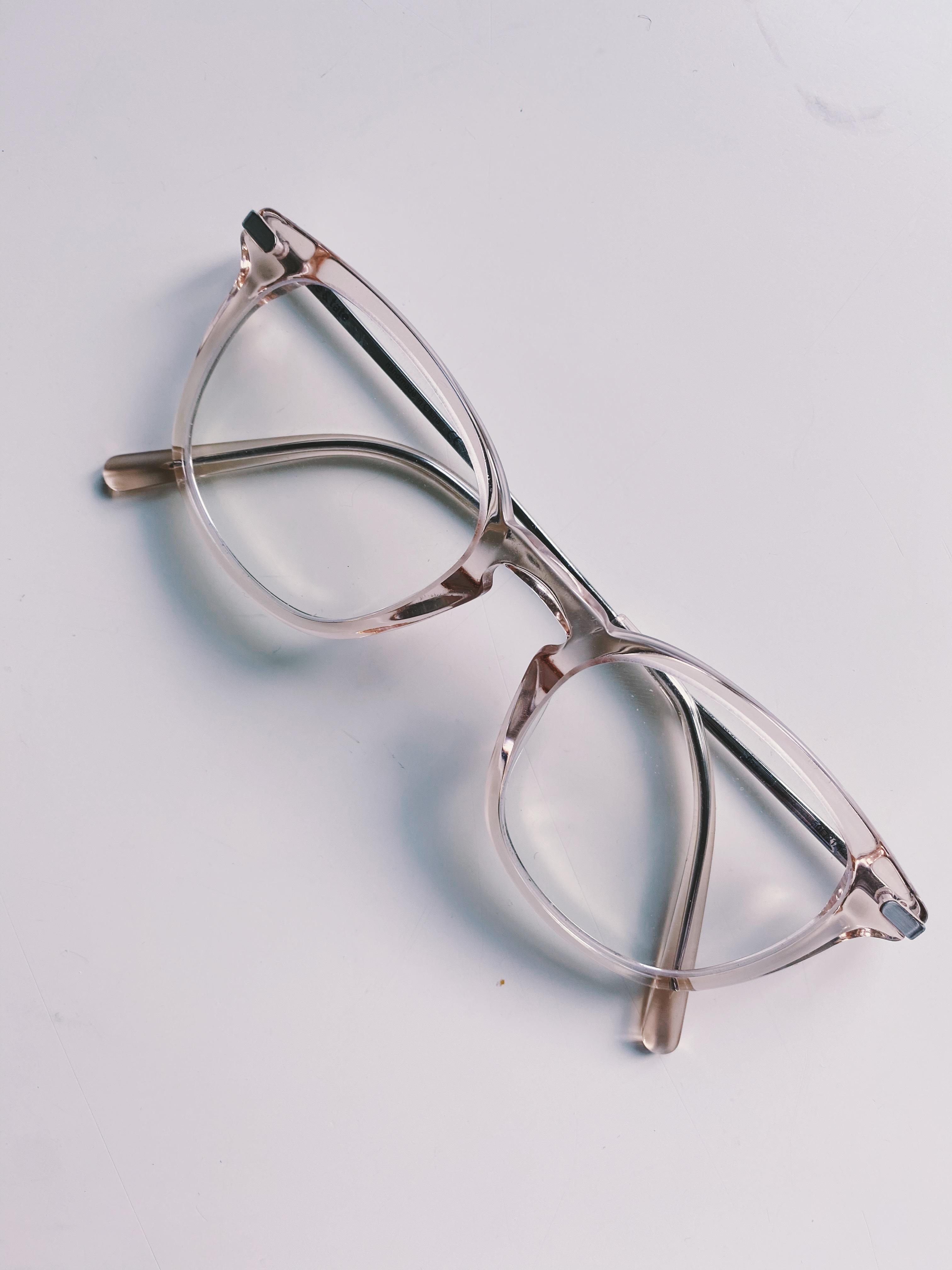 Blue Lense Glasses