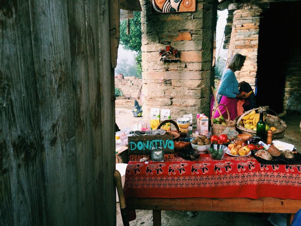 donativo food stall