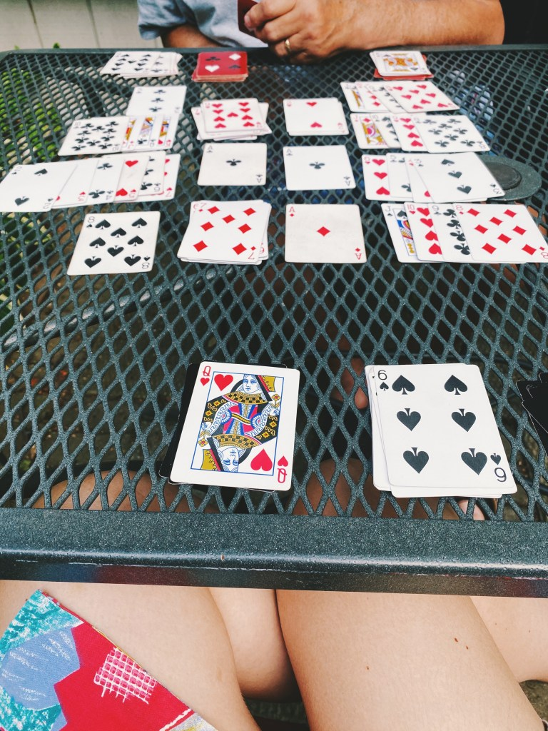 double solitaire card game