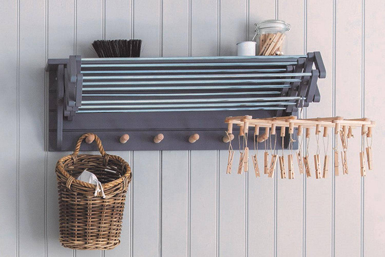 best wall mounted clothes drying rack
