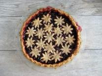 Blackberry Pie in a Coffee-Hazelnut Pastry