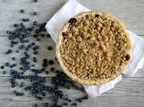 Blueberry-Raspberry Crisp Pie