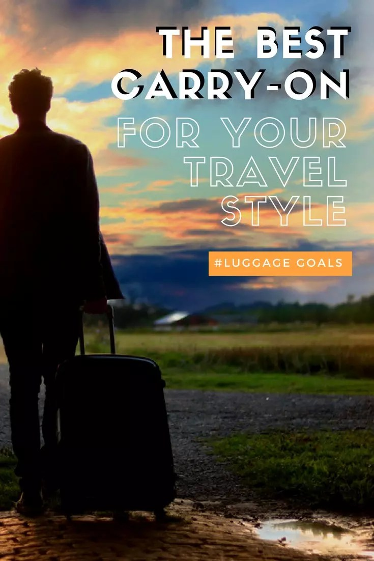 The best luggage for travel. The best carry on for frequent travelers. The best bags and suitcases for trips and vacations. #luggage #bags #suitcase