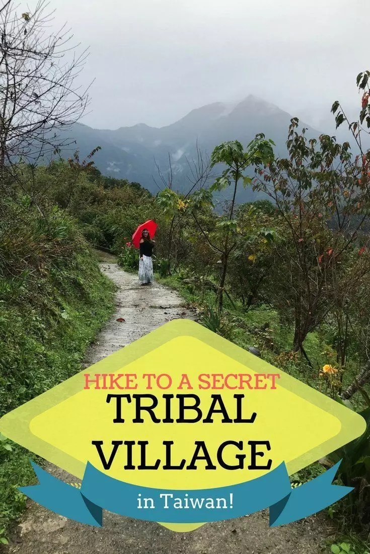 Hike to a secret tribal village in Taroko Gorge National Park in Taiwan. Best hiking in Taiwan, unique adventures in Taiwan, secret adventure spots in #Taiwan.