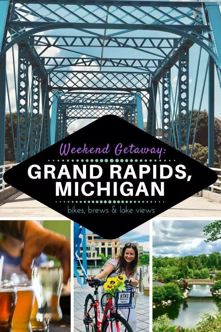 What to do in Grand Rapids, Michigan. Everything to do in MI for a great Midwest getaway or weekend trip. #Mi #michigan #grandrapids