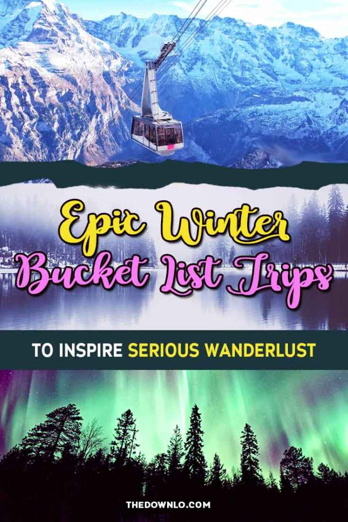 The best winter travel destinations in the USA, Europe and around the world. Tips, beautiful pictures and photos to inspire trip ideas for wanderlust, adventure, and Instagram. Add these warm and cold weather international places to your bucket list for cool weekend holidays or longer itineraries -- stat. #bucketlists