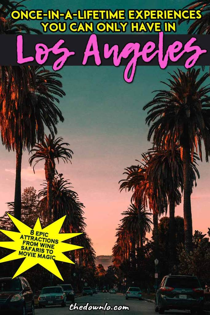 Fun things to do in LA - Unexpected free and cheap attractions in Los Angeles with kids, with teens, or with friends from trendy Instagram spots to cool local California bucket list things to do. The best, most unique and unusual vacations for your bucket lists from Disney to Malibu Wine Safaris. #la #losangeles #travel""