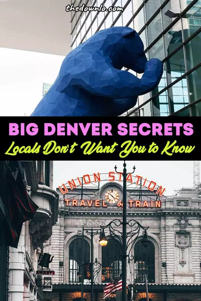 Cat's out of the bag! These Denver secrets are too good not to spill from restaurants with hidden pasts to where the celebs hang out. If you're looking for quirky things to do in Colorado, USA look no further. Denver attractions are weird, ya'll. It's that Rocky Mountain air.... #bucketlists #denver #colorado #travel