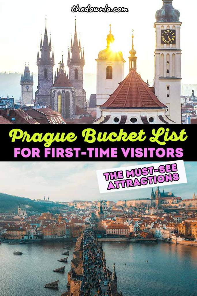 Things to do in Prague: free fun in the Czech Republic. See the best unique attractions like Old Town, the Lennon Wall, Charles Bridge, Prague Castle, and Astrological clock, but then make your own walking tour to find sensual food, cool markets, and secret breweries. Top things for your European bucket list include non-touristy neighborhoods and amazing restaurants. #europe #prague #travel