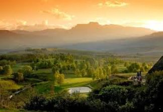 Sunset over the Champagne Sports Resort (Source: Champagne Sports Resort)
