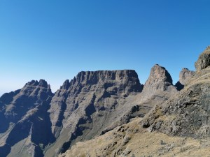 Monks Cowl and Cathkin Peak