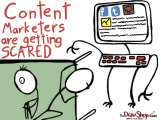 Content Marketers Getting Scared