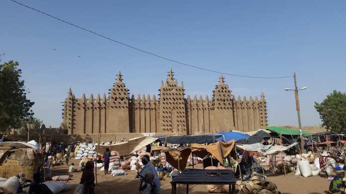 Mosque of Djenne Mali