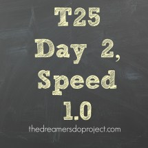 T25 Speed 1 0 Full Workout - Year of Clean Water