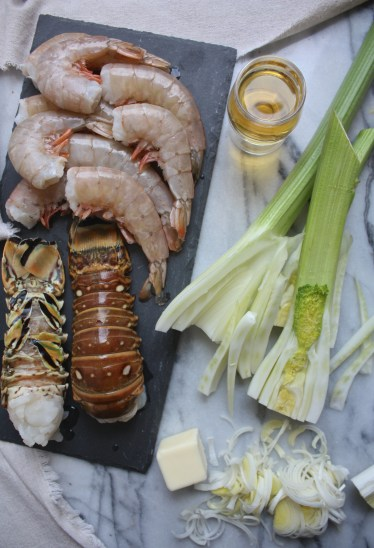 Lobster + Fennel Soup