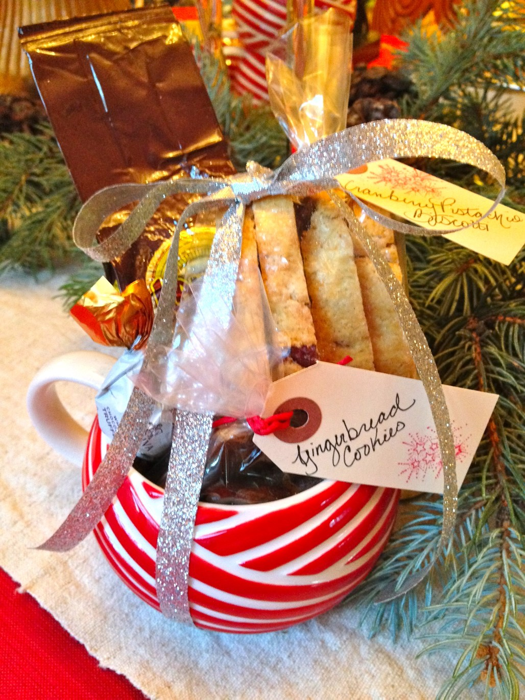 Handmade Holiday: Cookies & Coffee Gift Mugs | Dreamery Events