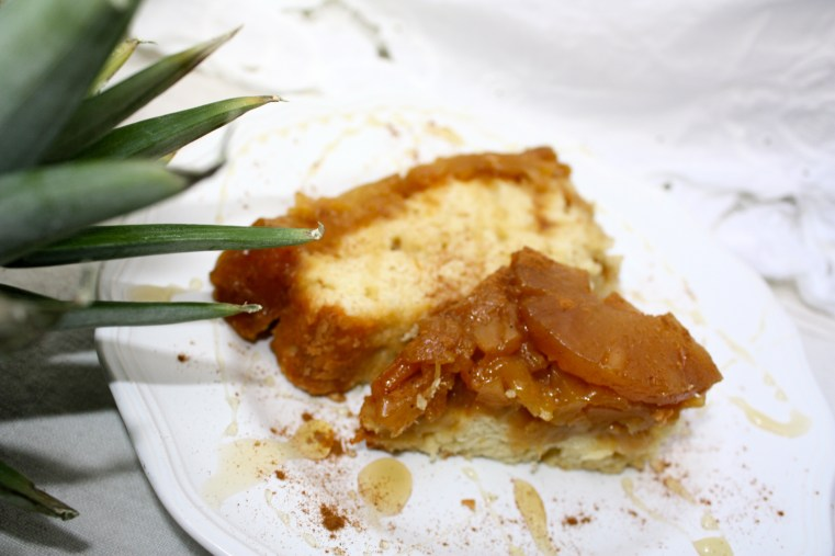 Pineapple Mango Upside Down Cake