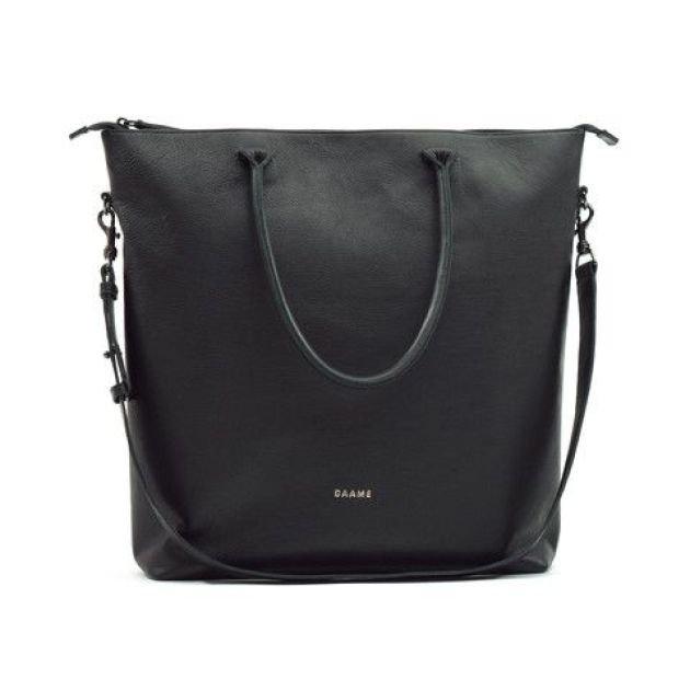 Dame leather laptop tote