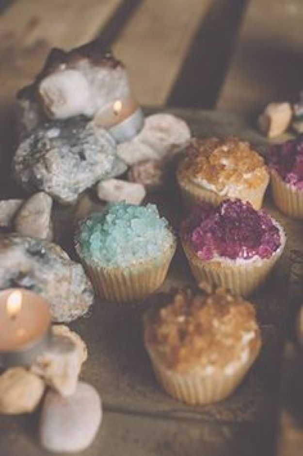 I'm Loving...Rock Candy topped cupcakes